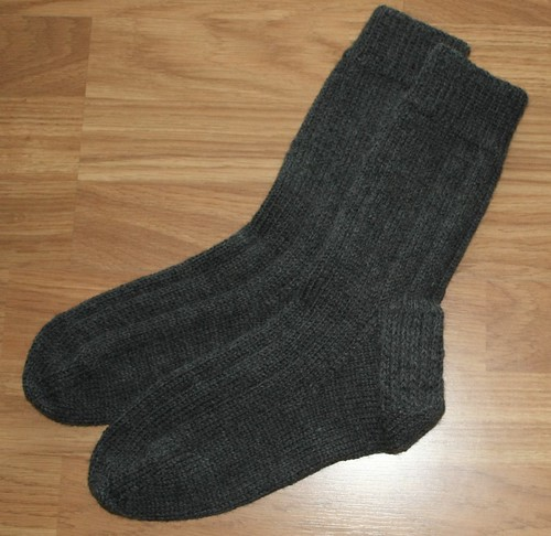 Mens Regia 6-ply Ribbed Socks