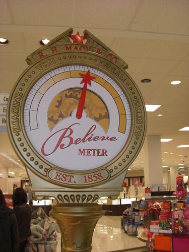 Believe Meter