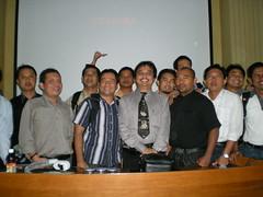 foto roy dan peserta