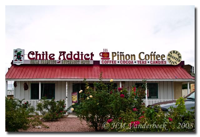 Chile Addict and New Mexico Piñon Coffee Co.