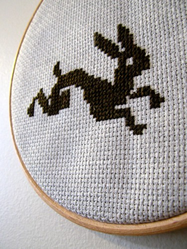 Cross stitch is fun! - DAY 256 by auxpetitsoiseaux.