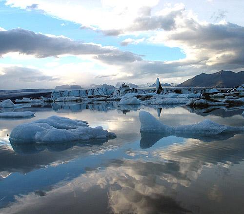 Iceland 2007 glacier lagoon Jökulsárlón