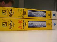 Sponsored by Amdocs - Yellow print directory