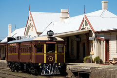 CPH No6 sitting at Cooma Station. 26/1/09.