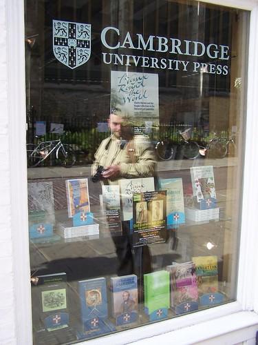 Darwin Display, Cambridge University Press Bookshop, Cambridge, England