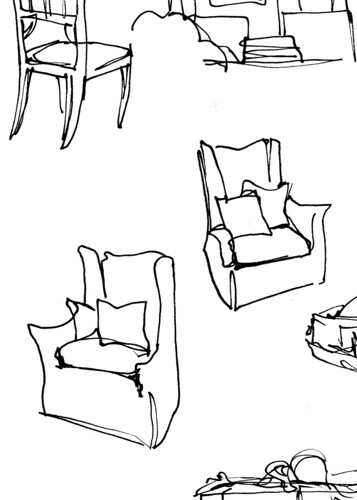 Chair sketches.