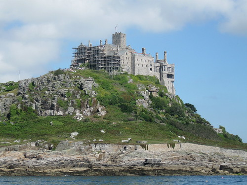 Closer to St Michael's Mount (22nd July)