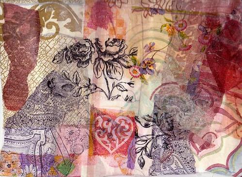 Fabric Paper On Tyvek 1
