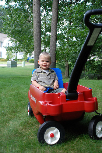 Thanks For the Wagon, Meemaw and Peepaw!