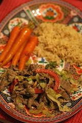 Stir-fry dinner 1