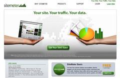 Sitemeter homepage