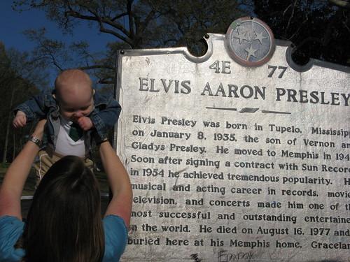 Critter, meet Elvis. Elvis, meet Critter.