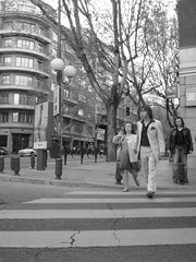 Calle princesa de Madrid