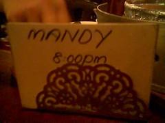 Man-D's reservation