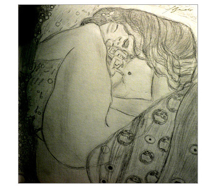Sketch of Danae, 2006 (c) shbadr.wordpress.com