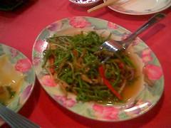 Sibu's Ruby Thai-style midin salad