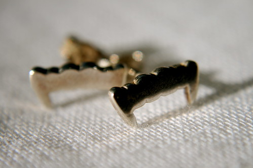 Fang Earrings by Meadowlark