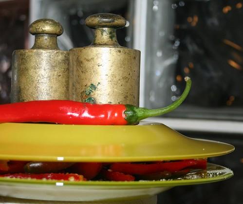 Peperoncini sotto sale