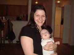 Maddie loves her Tia Leah