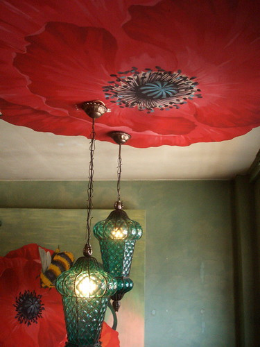 ceiling poppies