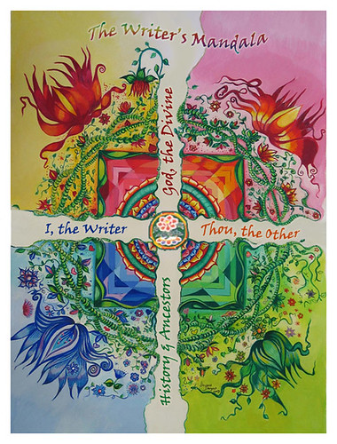 the writer's mandala by you.
