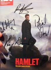 A signed Hamlet programme