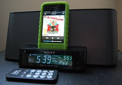 Sony Speaker Dock/Clock Radio for iPhone