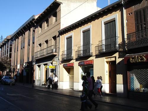Calle Libreros en la actualidad
