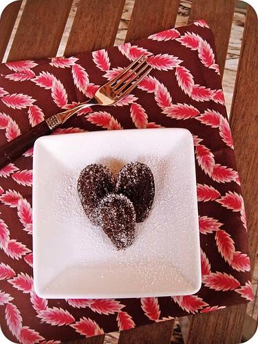 Black Chocolate Madeleines III