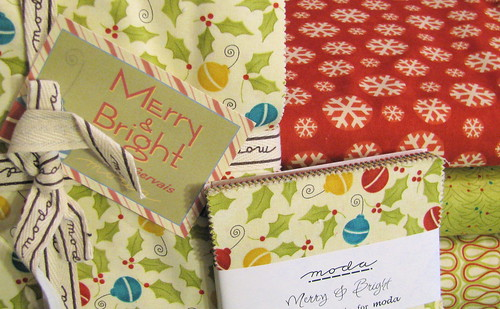 Christmas Fabrics for my quilt