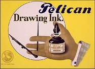 El Lissitzky. Pelican Drawing Ink_ Advertisement. 1925.