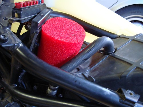 Red Headed pre air filter