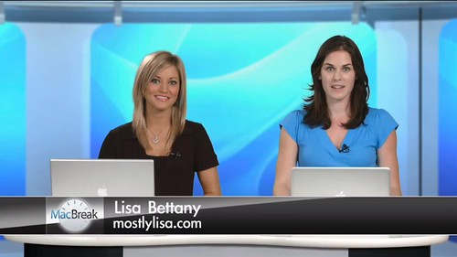 Mostly Lisa on Macbreak with Justine