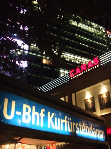 Berlin Germany:Kurfürstendamm von Ihnen.