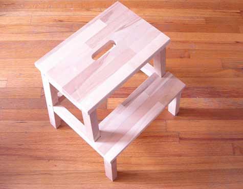 bekvam stool (before)