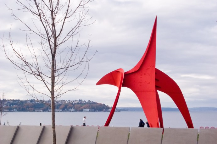 Eagle @ Olympic Sculpture Park (by Phanix)