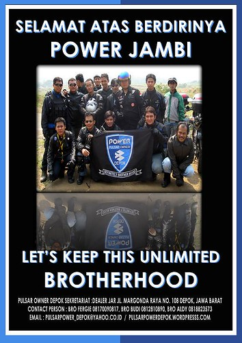 SELAMAT POWER JAMBI by you.