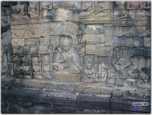 Bas Relief - Terrace of Leper King