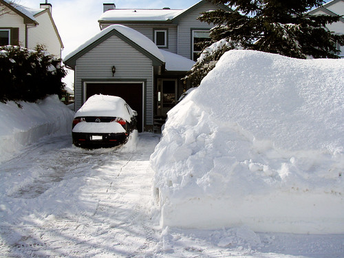 Snow out front