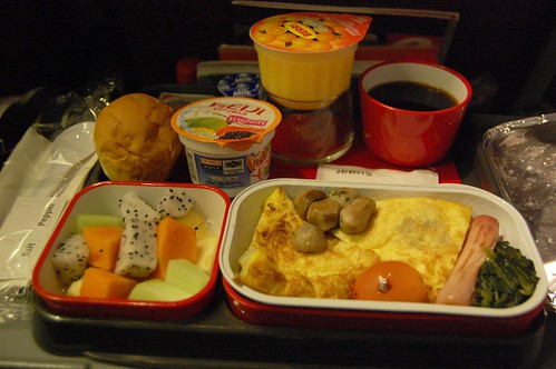 Qantas Breakfast