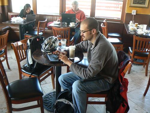 Bloggers in Tiburon