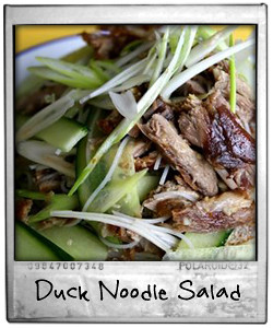 Duck Noodle Salad