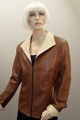 Leather Jacket sans Collar