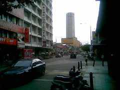 Penang Road and Komtar