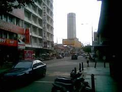 Penang Road and Komtar
