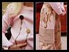 Pink/tan camo details
