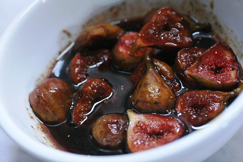 Fresh fig compote
