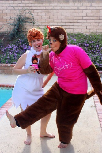 Wilma & Monchhichi