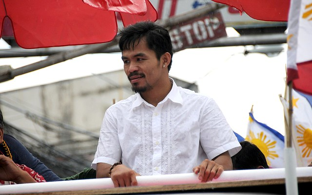 manny pacquiao in manila