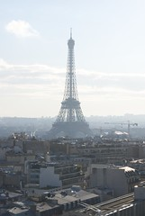 Eiffel Tower from the Arc de Triomphe